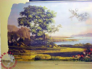 decorazione-parete-showroom-sala-gigantografia