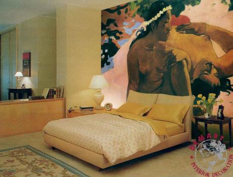 decorazione-parete-affresco-digitale-camera-letto-privato-gauguin-07