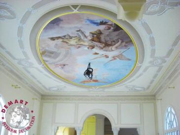 decorazione-soffitto-soggiorno-affresco-digitale