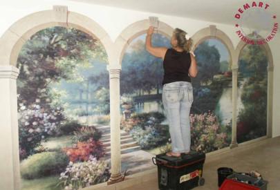decorazione-parete-affresco-digitale-privato