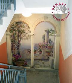 decorazione-scala-residenza-anziani-gruppo-zaffiro-01