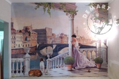 decorazione-parete-pasticceria-officina-ferrucci-firenze