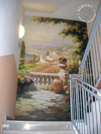 decorazione-parete-scala