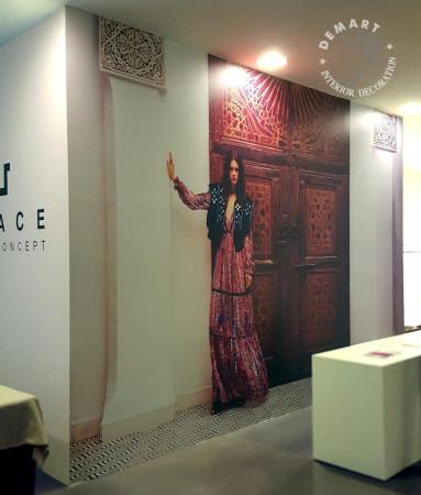 decorazione-pareti-showroom-milano