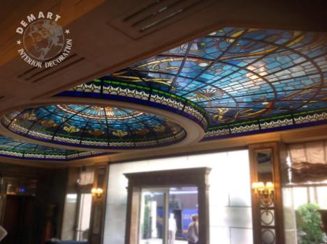 vetrata-soffitto-decorazione-affresco