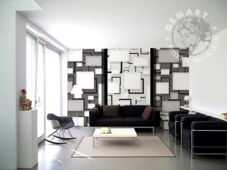 carta-parati-moderna-geometrica-soggiorno-bianco-nero