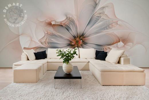carta-parati-moderna-immagine-natura-soggiorno-rosa-bianca