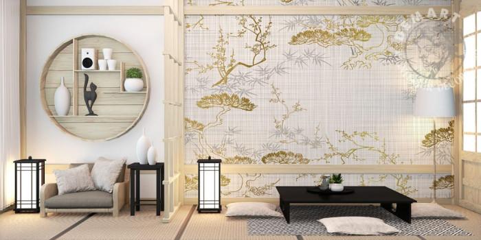 carta-parati-tela-giappponese-bonsai-cucina-soggiorno