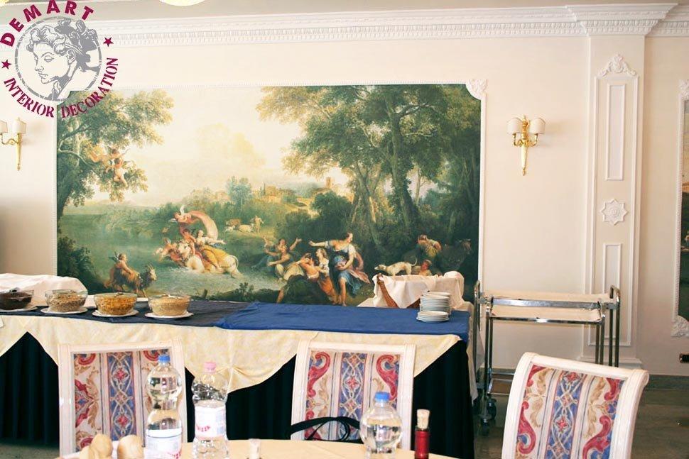 affresco-digitale-abano-terme-hotel-alexander-pareti-salone-ristorante-05