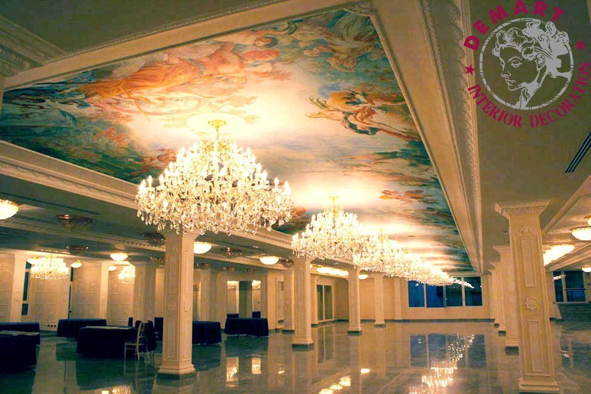 affresco-digitale-abano-terme-hotel-alexander-soffitto-salone-ristorante-04