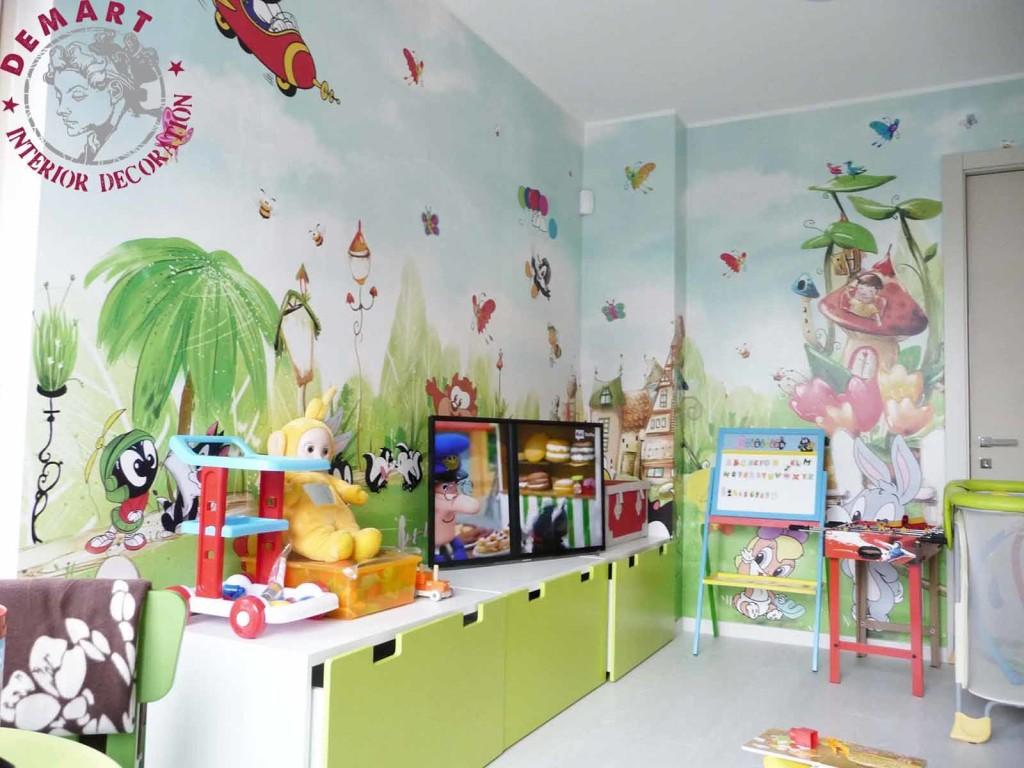 Decorazioni muro cameretta maximize with decorazioni muro - Decorazioni murali camerette bambini ...