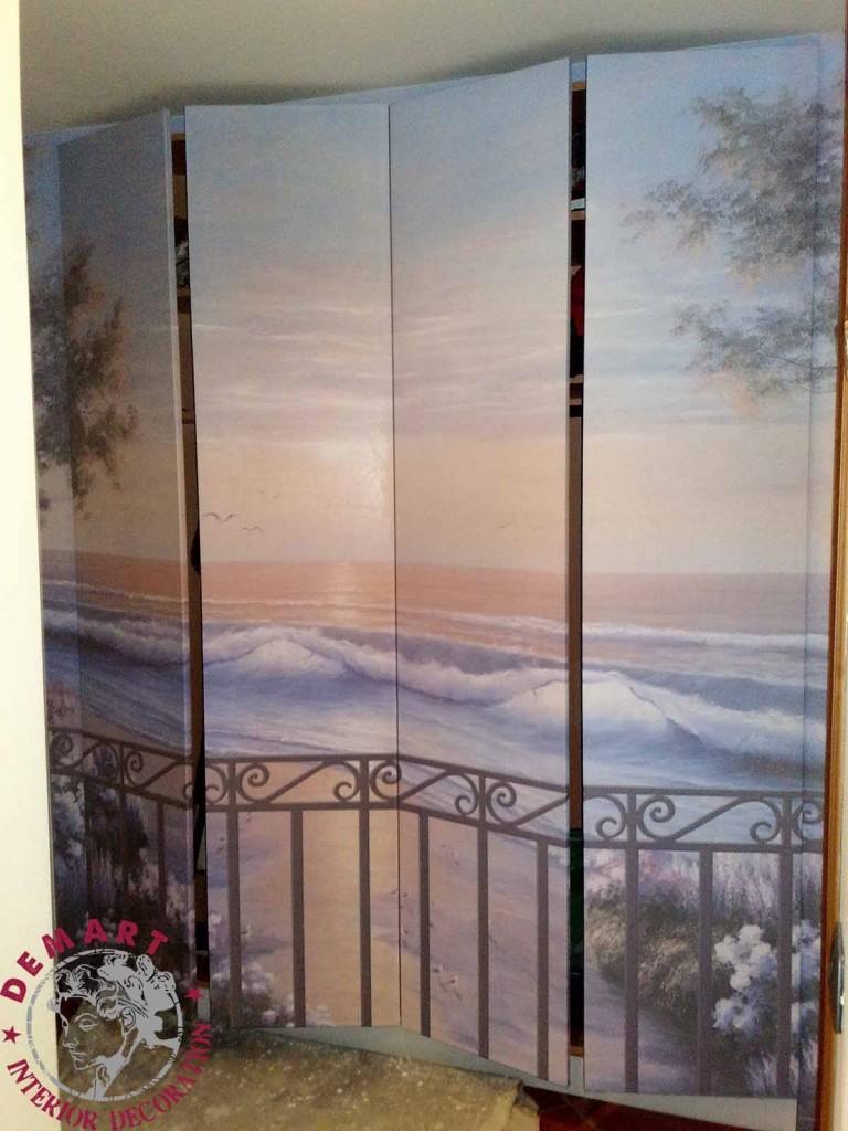 Rivestire ante armadio idee di immagini di casamia for Pellicole adesive per mobili