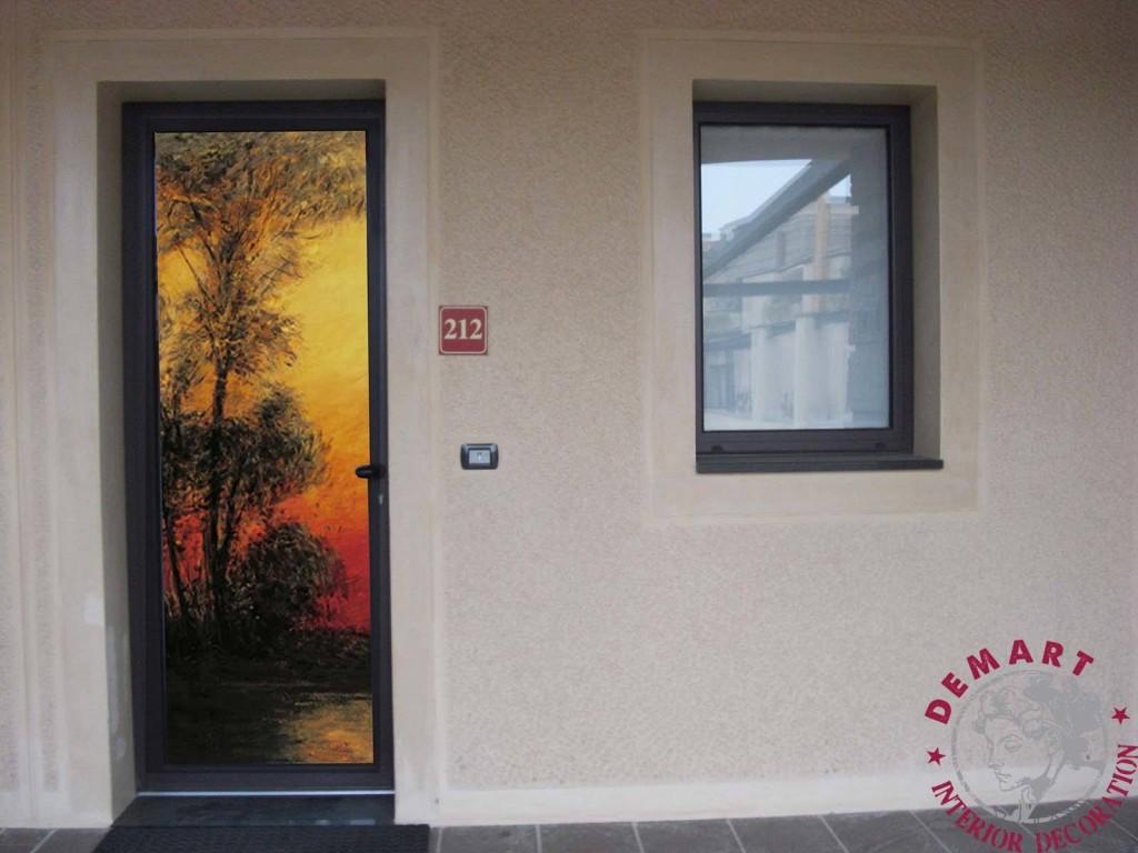 Abat jour camera da letto e lampadario - Decori per finestre esterne ...