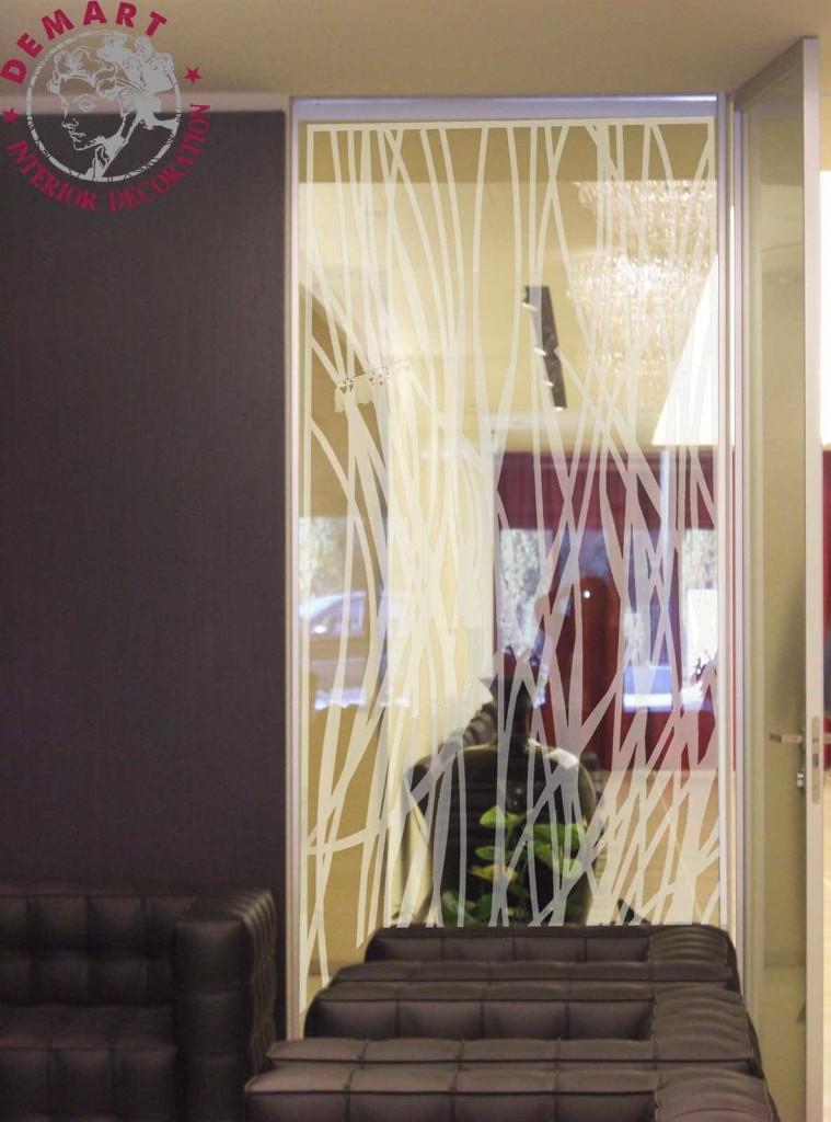Idee per decorare le pareti di casa il portfolio lavori - Pellicola adesiva a specchio ...