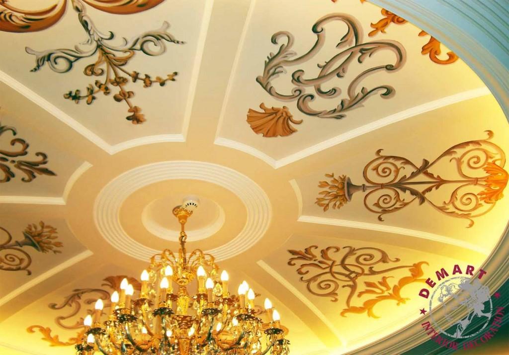 Decorazione Grand Hotel Dino, Stresa
