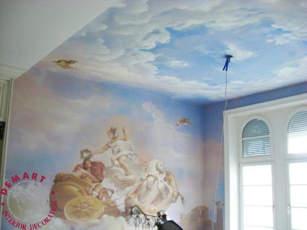 Decorazione muratura scala for Muri interni decorati