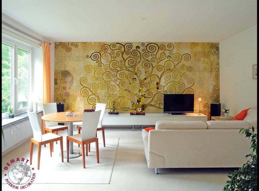 Idee per decorare le pareti di casa il portfolio lavori for Tappezzeria da parete