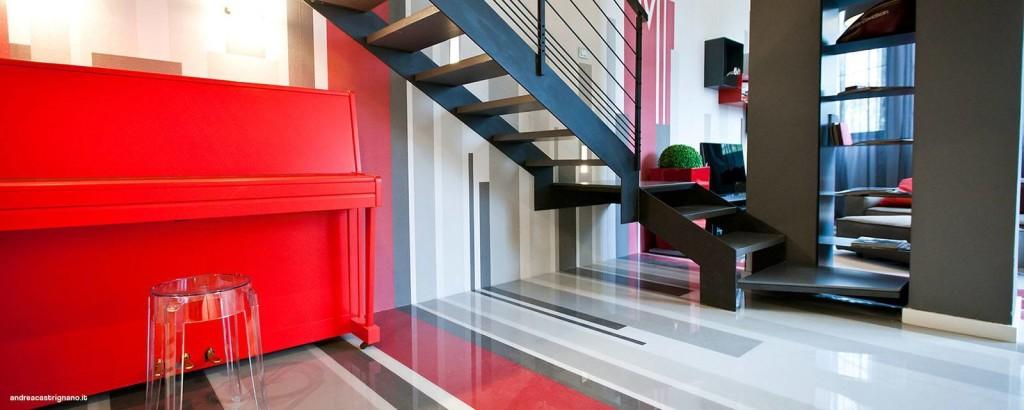Idee per decorare le pareti di casa il portfolio lavori for Pellicola adesiva mobili