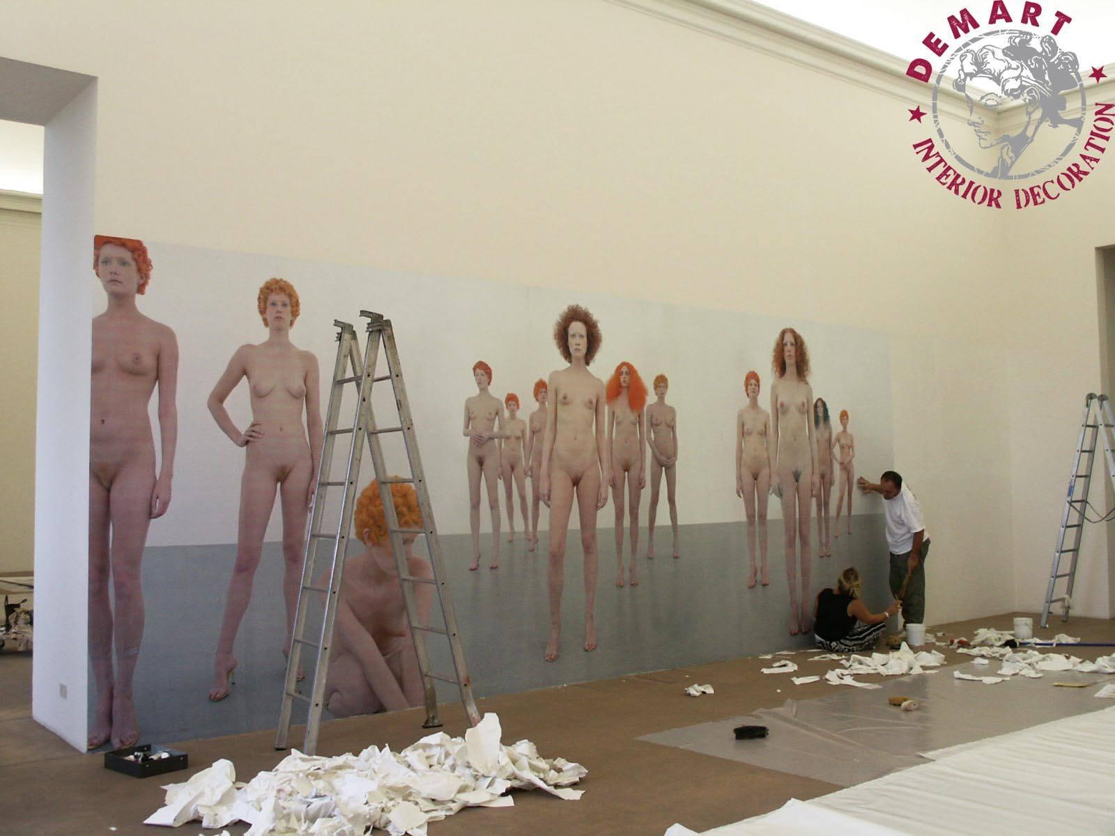 museo-arte-rivoli-vanessa-beecroft-affresco-digitale-lavori-01