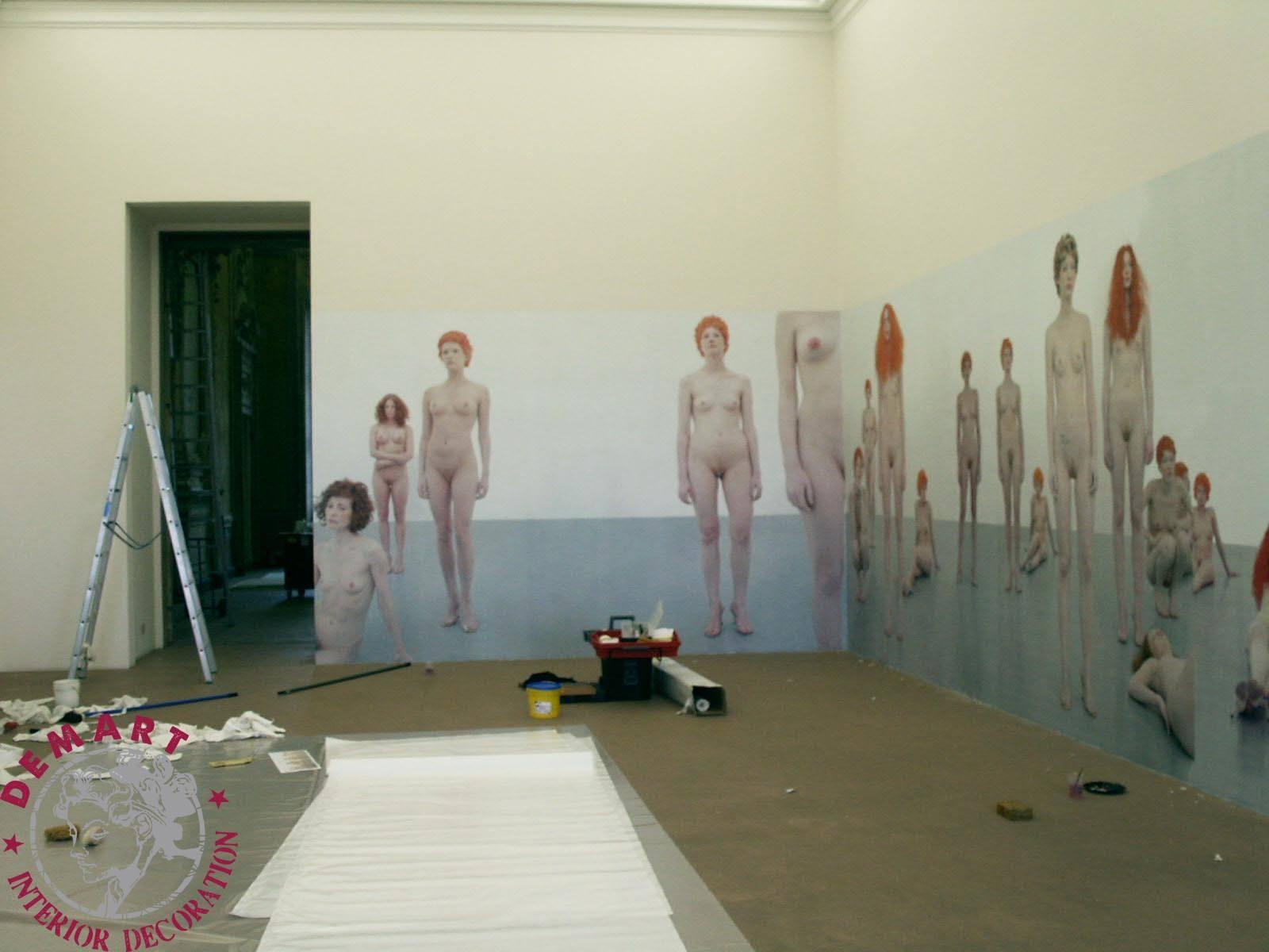 museo-arte-rivoli-vanessa-beecroft-affresco-digitale-lavori-04