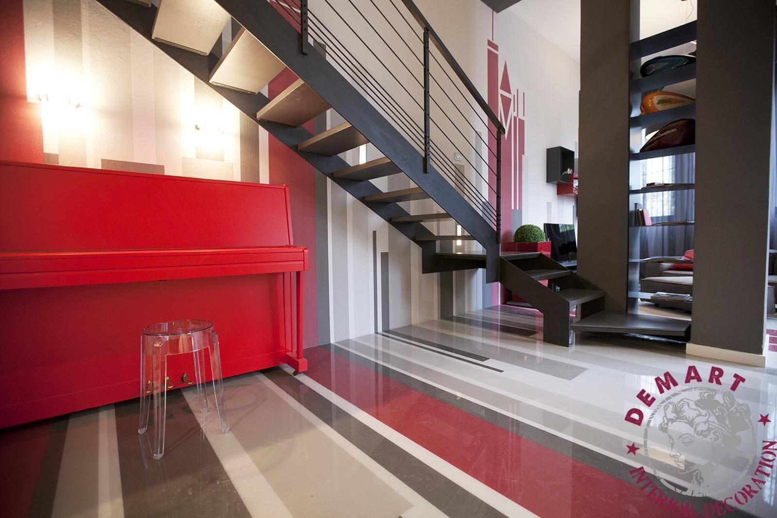 Pellicola rivestimento pianoforte per cambio casa cambio vita - Andrea castrignano interior designer ...