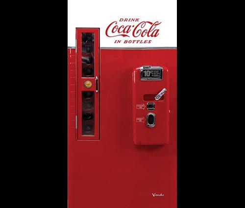 Decorazioni Adesive Per Ante Armadio.Pellicola Adesiva Frigo Anta Armadio Coca Cola