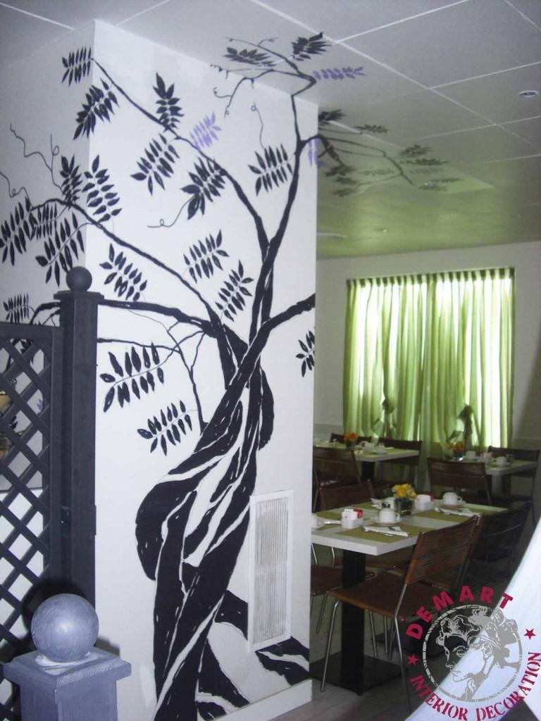 Decorazione interni per hotel atlantic milano for Decorazione interni