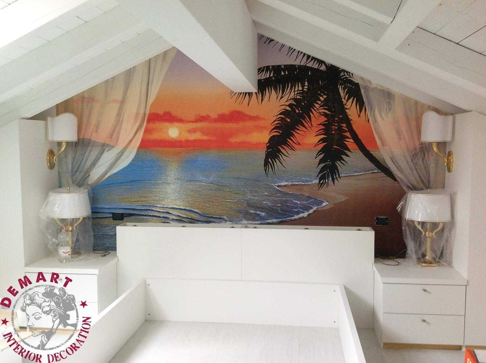 idee per pitturare pareti della camera da letto: dipingere casa ... - Decorazioni Muro Camera Da Letto