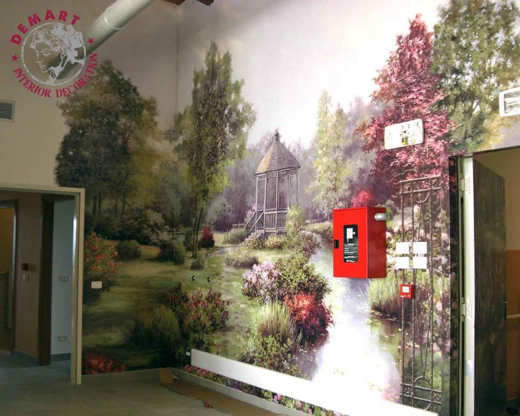 Parete Soggiorno Borgo : Idee per decorare le pareti di casa il portfolio lavori