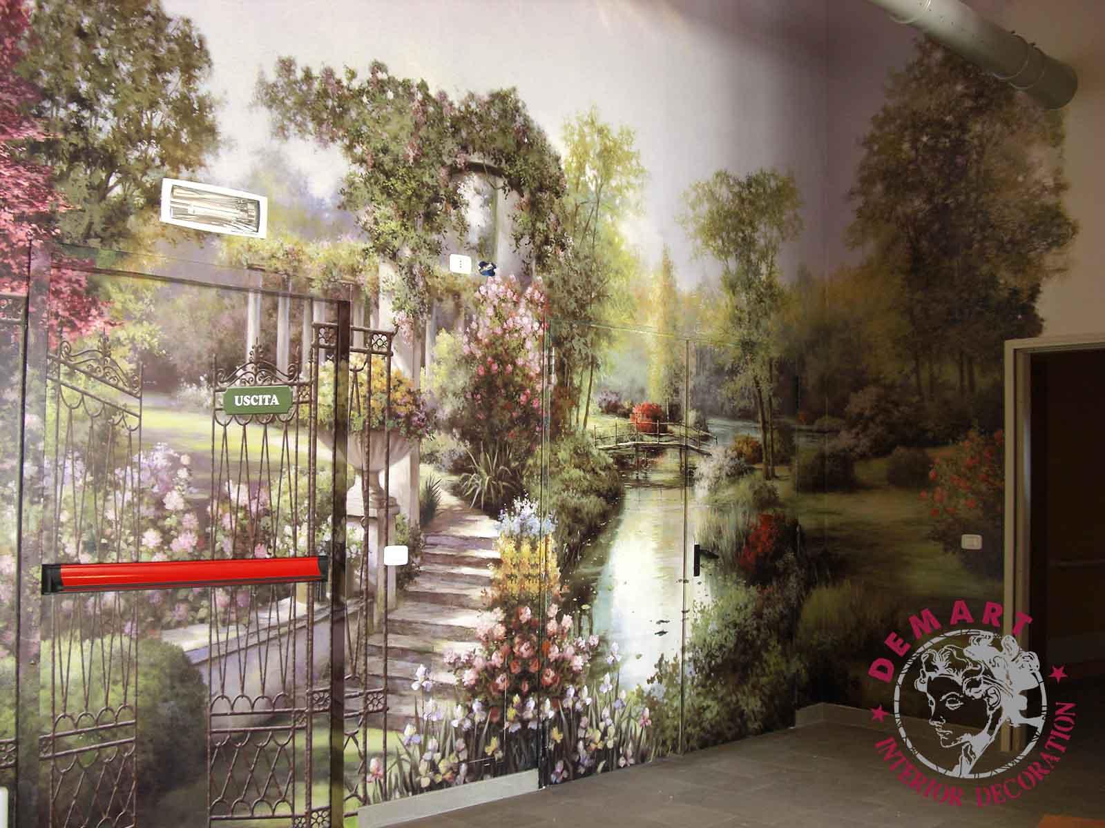 Decorazione interni residenze per anziani gruppo zaffiro for Decorazione interni