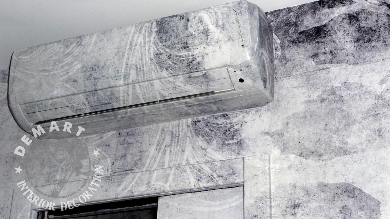 Decorazione interni per pareti appartamento milano for Decorazione interni