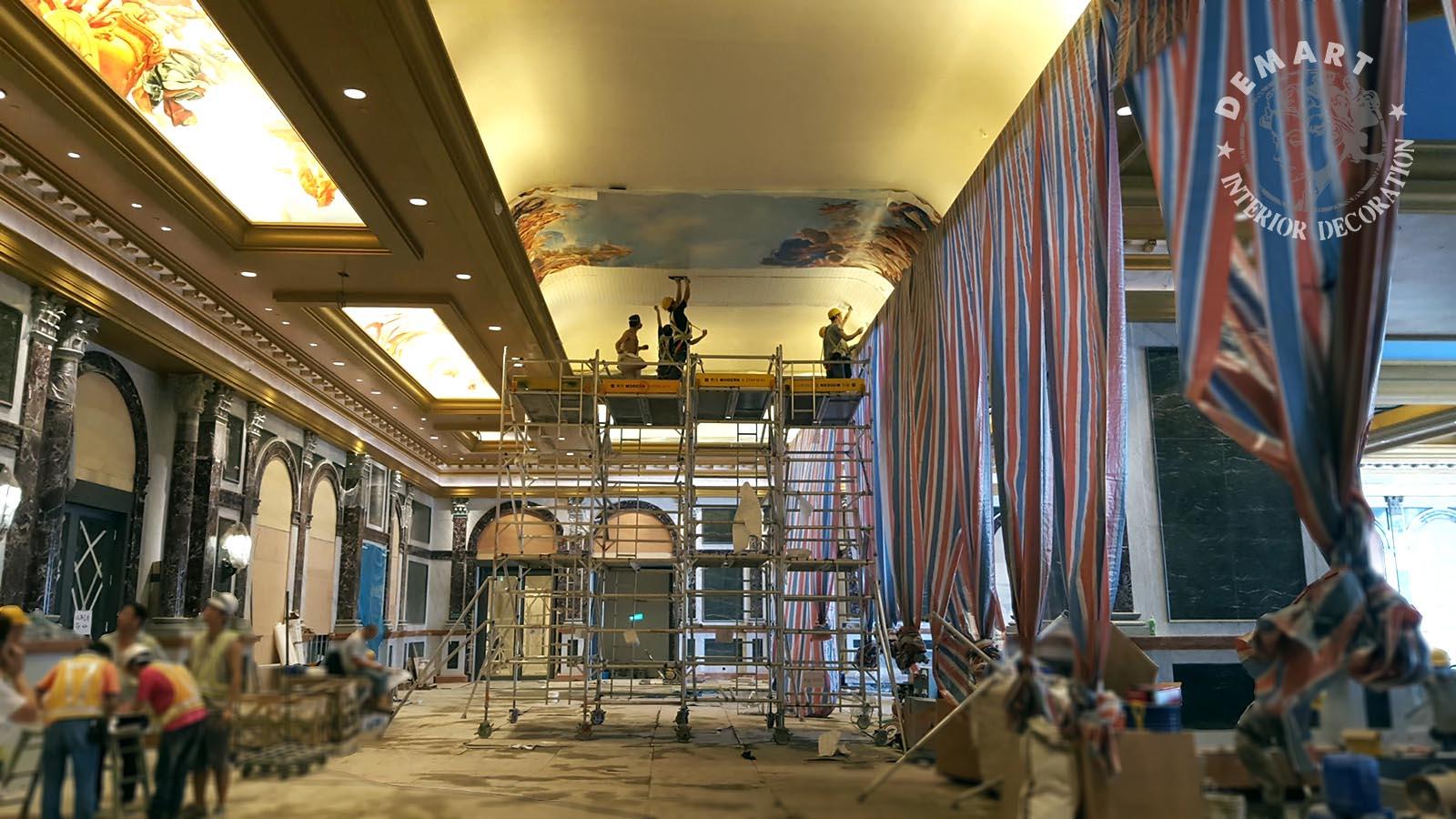 decoro-pareti-soffitti-hotel-lusso