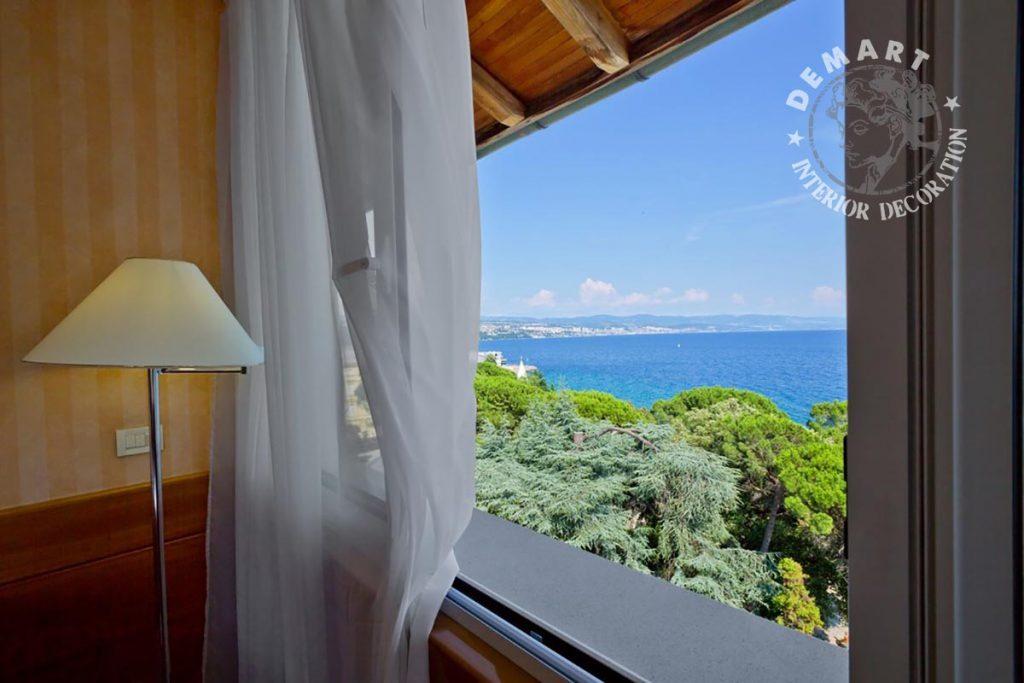 Decorazione salone e camere da letto per hotel millennium for Croazia camere