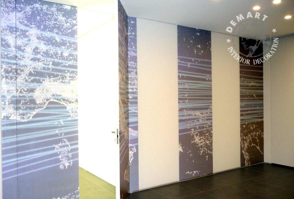 Decorare pareti ufficio negozi e showroom scopri come for Pareti ufficio