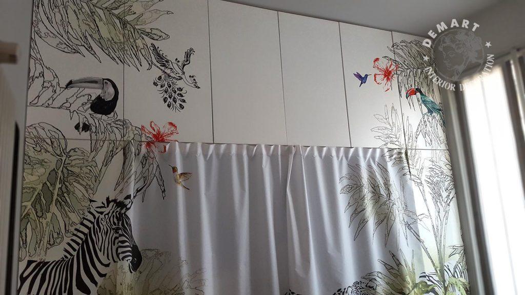 Rivestire ante armadio idee di immagini di casamia - Pellicole adesive per rivestire mobili ...