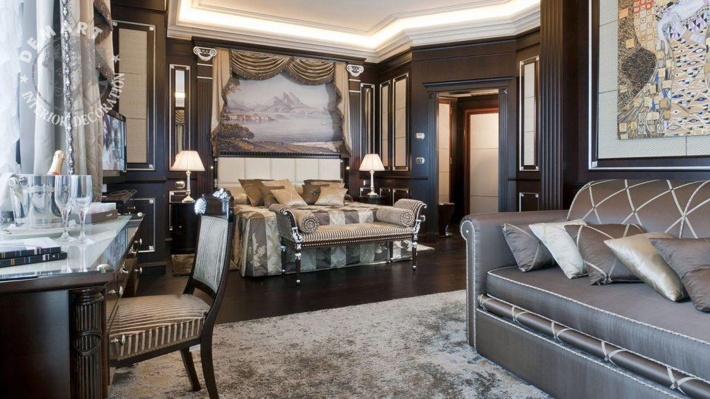 Idee per decorare le pareti di casa il portfolio lavori firmati demart - Decorare parete soggiorno ...