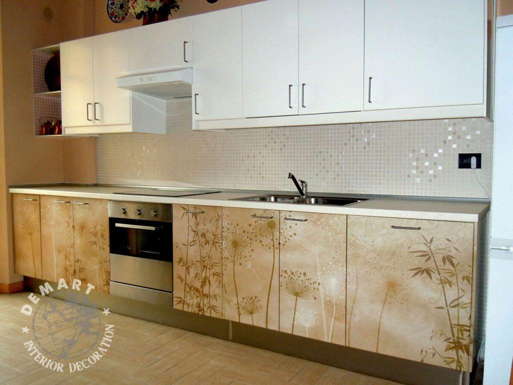 Idee per decorare le pareti di casa il portfolio lavori for Pellicole adesive per mobili brico