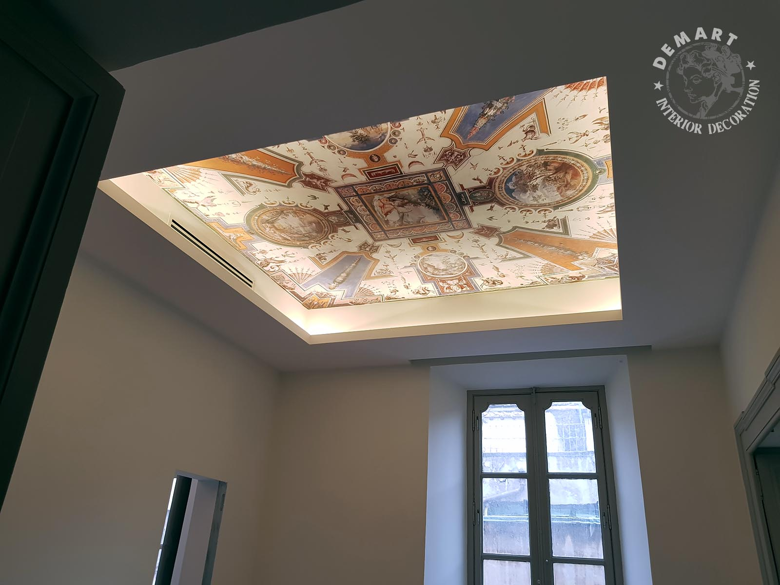 Progetto di decorazione di interni per appartamento a roma - Decorazione di interni ...