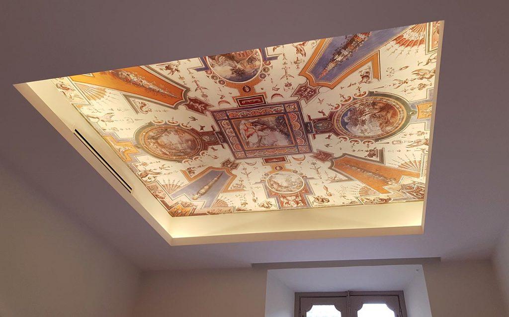 Progetto di decorazione di interni per appartamento a roma for Decorazione interni