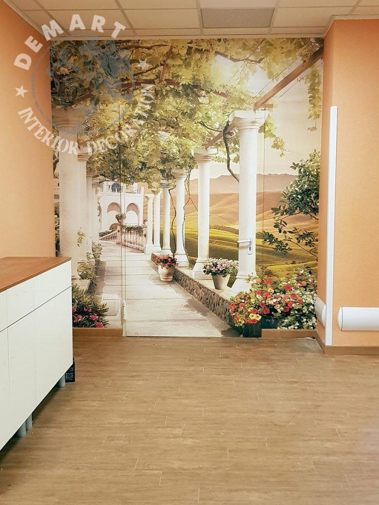 Idee per decorare le pareti di casa il portfolio lavori firmati demart for Rivestimento parete interna