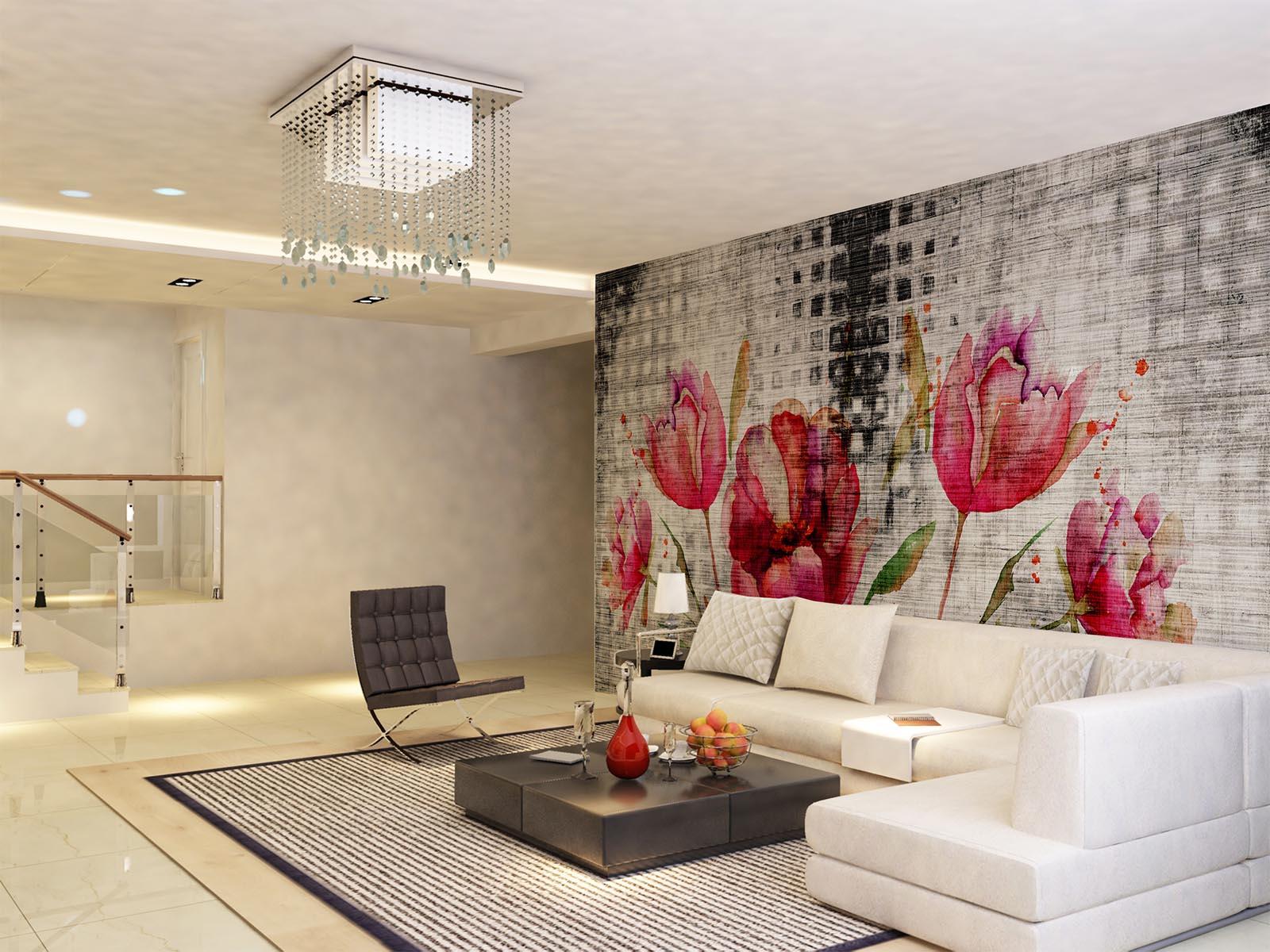 Carta parati design moderno per camera letto e soggiorno ...