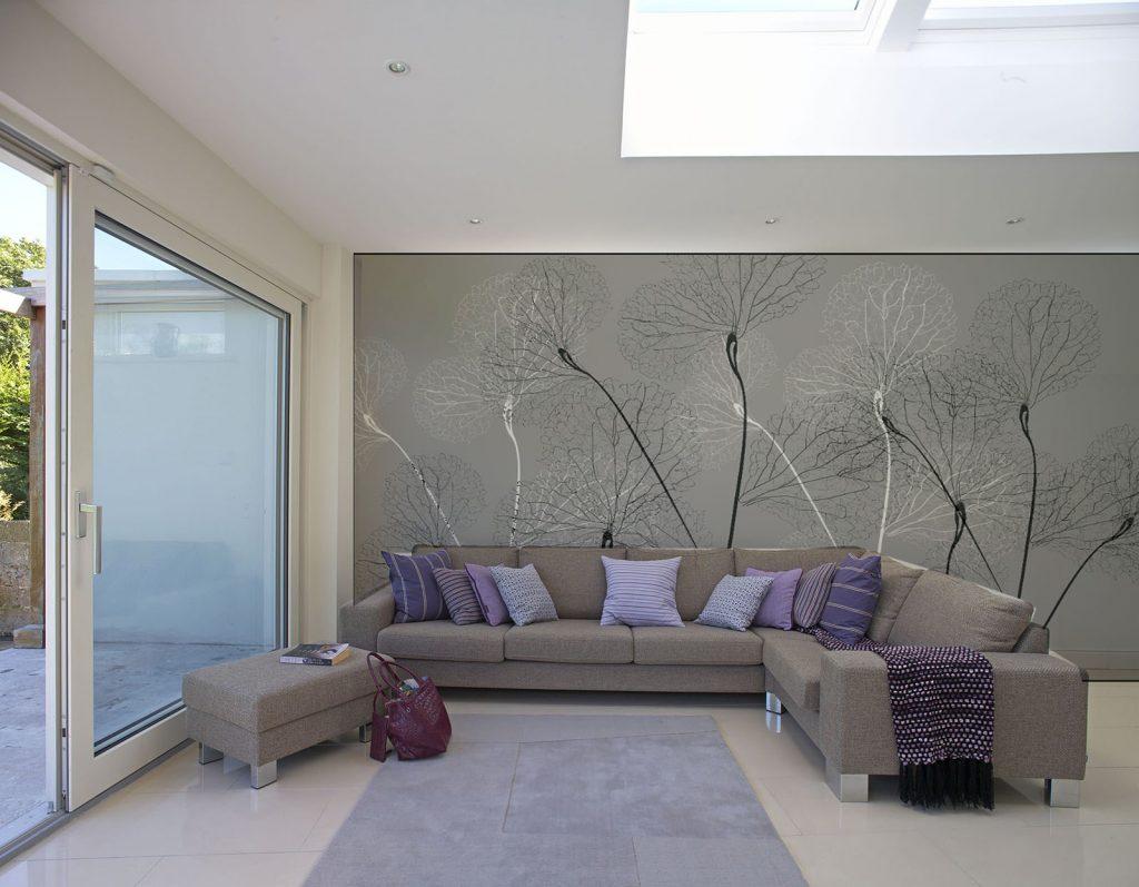 carta-parati-soffioni-rami-stilizzati-bianco-nero-soggiorno