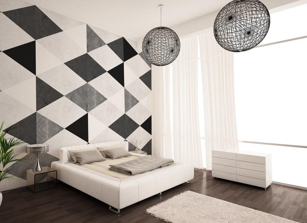 carta-parati-moderna-mosaico-camera-letto