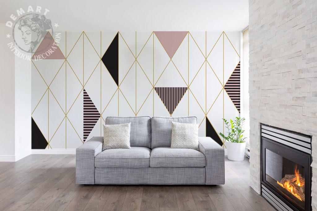 carta-parati-moderna-geometrica-soggiorno
