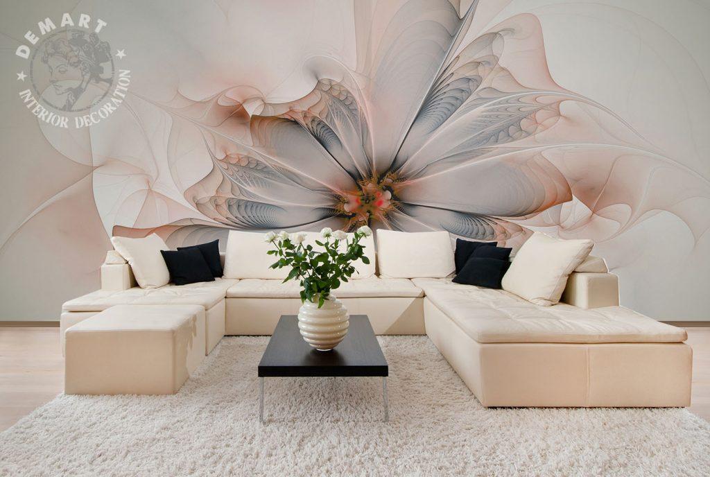 carta-parati-fiore-grande-rosa-soggiorno