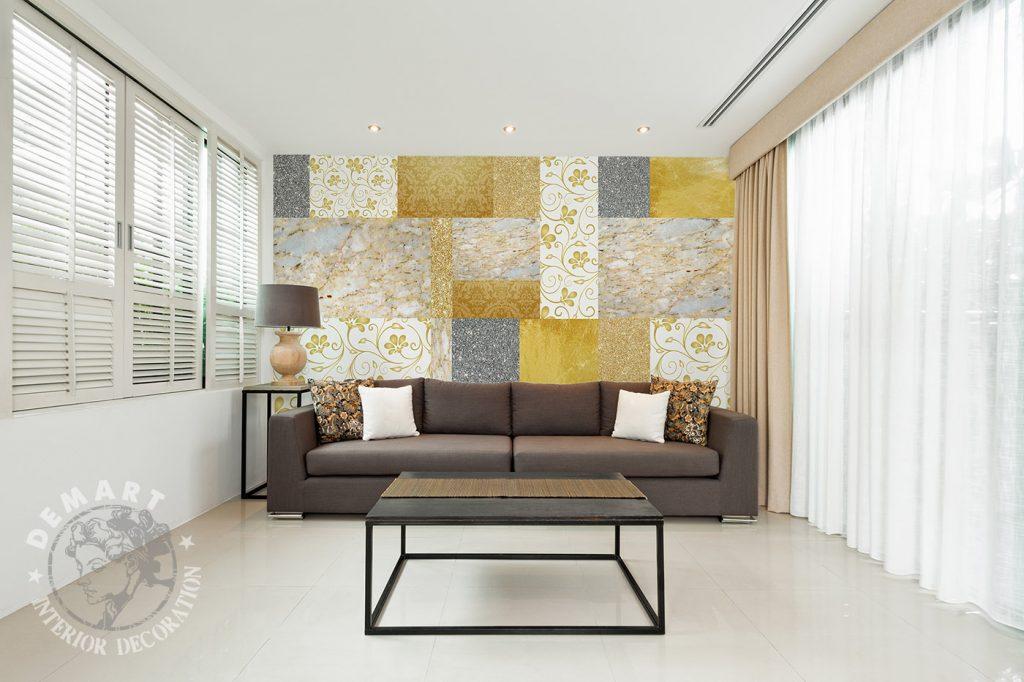 carta-parati-mosaico-oro