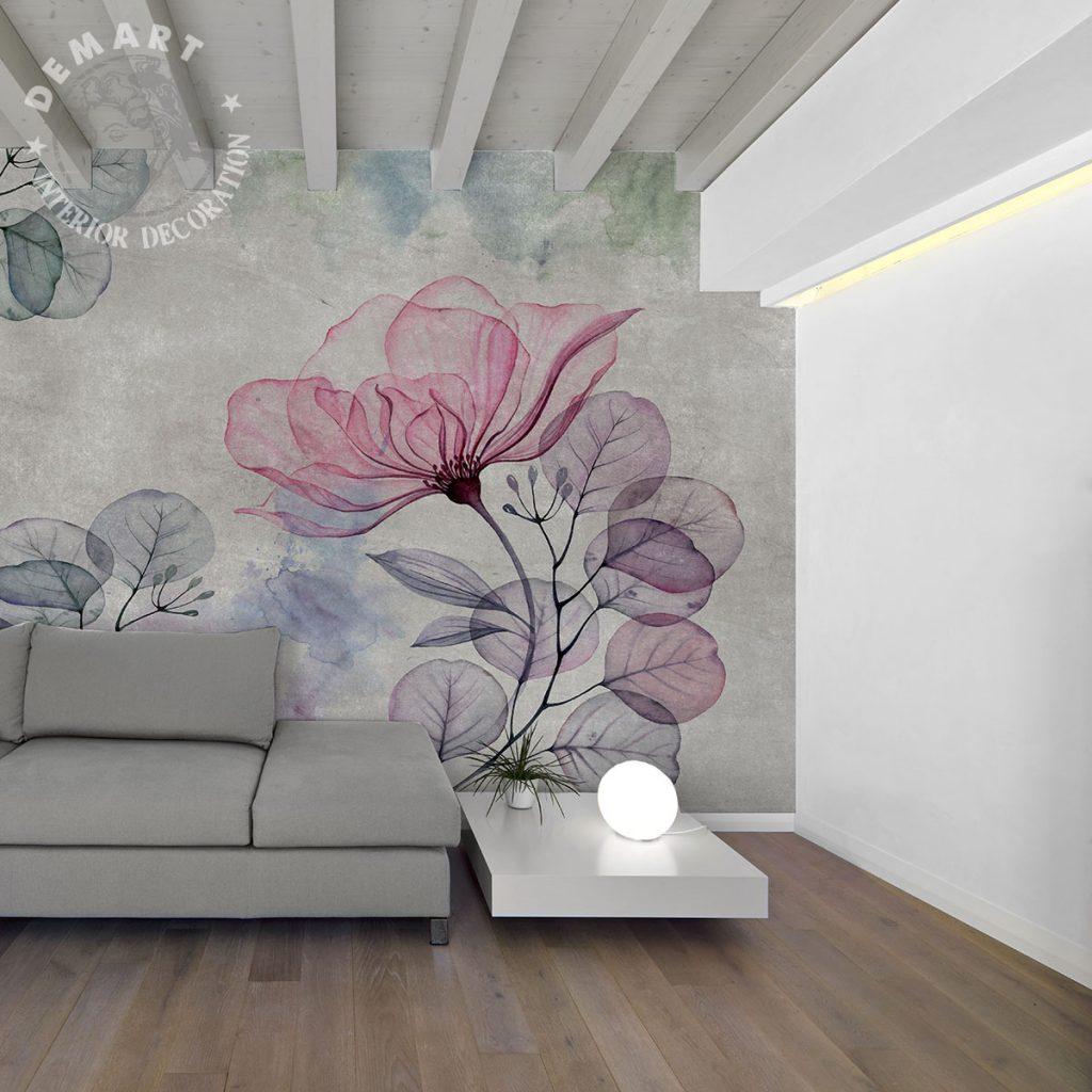 carta-parati-soggiorno-immagine-natura-pastello
