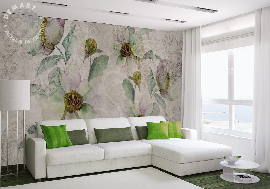 carta-parati-soggiorno-immagine-fiori-pastello