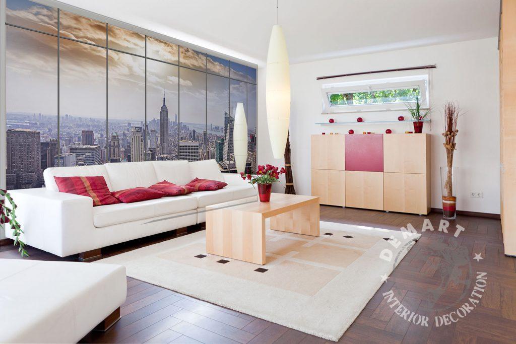 carta-parati-finestra-veduta-new-york-empire-state-building