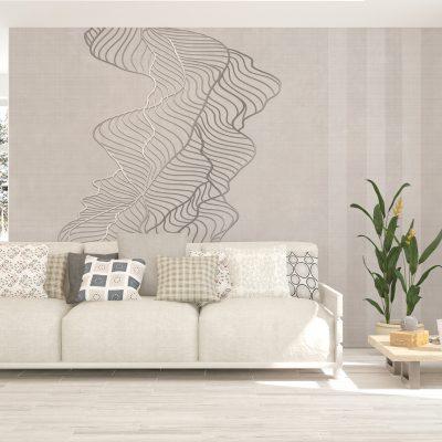 soggiorno-carta-parati-foglia-metallica-rilievo-effetto-tessuto-beige